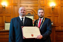 František Peterka se stal čestným  občanem Liberce