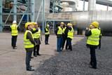 Hosty z Kazachstánu zajímalo, jak se modernizuje uhelná elektrárna
