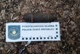 Na procházce lesem našel dělostřelecký granát