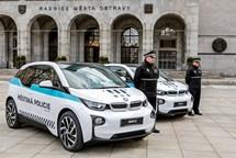 Ostravští strážníci mají dva elektromobily