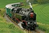 Do Rožnova parním vlakem