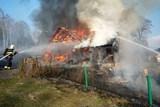 Stodola ve Smržovce v plamenech
