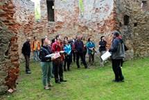 Mimořádná prohlídková trasa na hradě Buchlov bude pro letošní sezonu zahájena tento víkend