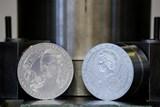 Marie Terezie na mincích a medailích k 300. výročí jejího narození