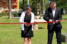 V Borohrádku bylo slavnostně otevřeno nové Oranžové hřiště