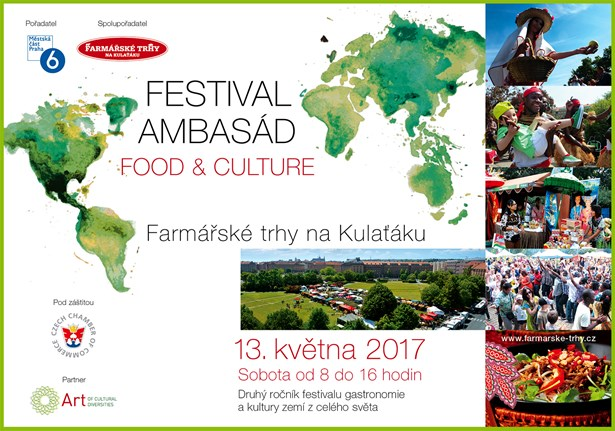 Festival ambasád FOOD AND CULTURE