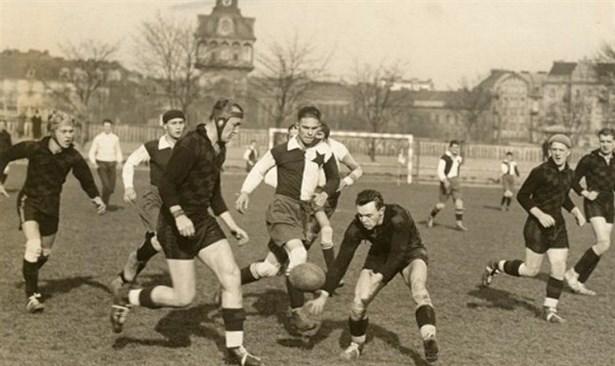 Popis: Derby Slavia - Sparta.