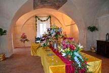 Květinová výstava i pohádková neděle na zámku v Telči