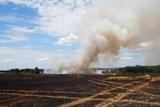 S požárem pole u obce Stříbřec pomohlo letecké hašení