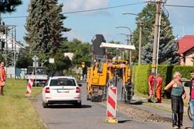 V Chářovské ulici byla zahájena rekonstrukce kanalizace