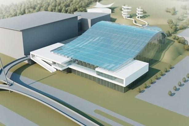 Popis: Vybraný návrh podoby Aquaparku Lužánky