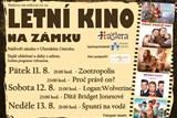 Letní kino na ostrožském zámku