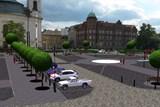 Rekonstrukce zcela uzavře náměstí Míru v Novém Boru