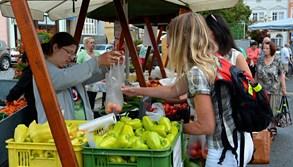 Pátek bude znovu patřit farmářskému trhu na náměstí