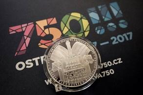 Pamětní medaile k 750. výročí první písemné zmínky o Ostravě