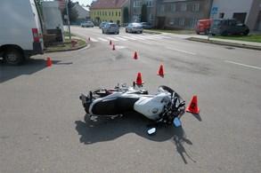 Dopravní nehoda v Morkovicích