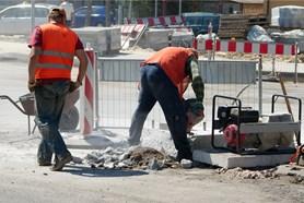 Stavební práce v Pražské ulici se posunuly do další etapy
