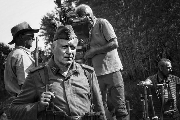 Popis: Stellan Skarsgård a kameraman Vladimir Smutny