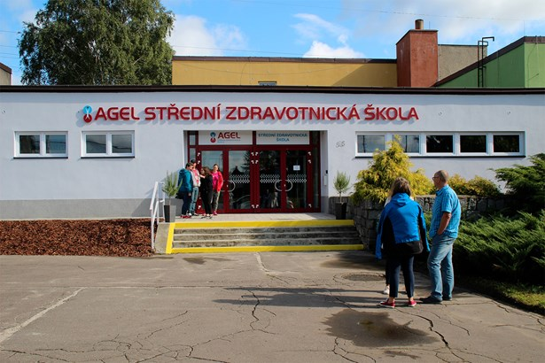 Popis: AGEL Střední zdravotnická škola v Ostravě.