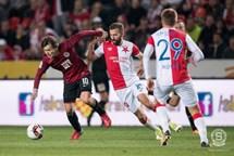 Slavia ve 288. derby porazila Spartu