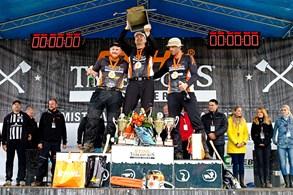 Nejlepší sportovní dřevorubec je Martin Komárek