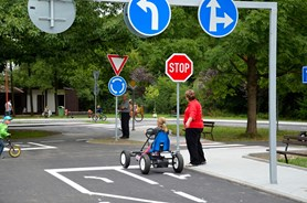 Dětské dopravní hřiště prošlo kompletní rekonstrukcí