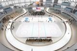 Kluziště bude sloužit v pavilonu Z i po skončení olympijského parku