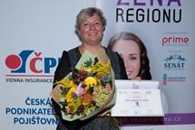 Ženou regionu je odbornice v oblasti sociální péče