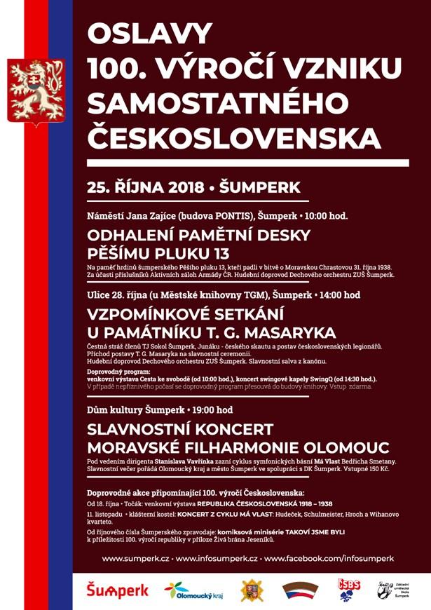 Oslavy 100. let Šumperk