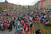V Bohumíně odstartovaly oslavy 100. výročí republiky novým rekordem