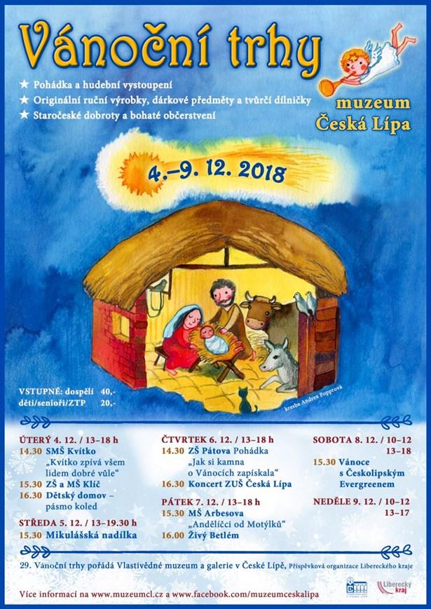Vánoční trhy Česká Lípa