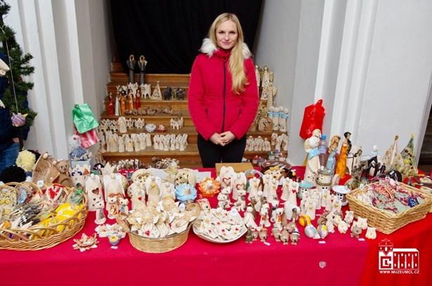 Popis: Vánoční trhy v muzeu v roce 2017.