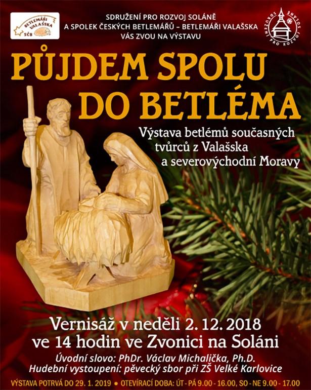 Půjdem spolu do Betléma - vánoční výstava ve Zvonici Soláň