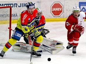 Budějovice si připsaly další tři body za vítězství proti Slavii
