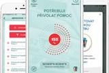 Aplikace Záchranka a Horská služba ČR spojily své síly při záchraně raněného na horách