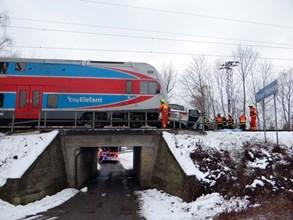 Tragická nehoda na železničním přejezdu v Ostravě - Třebovicích