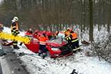 Při nehodě u Nížkovic se zranili dva lidé