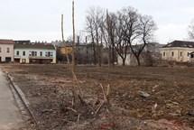 Škodova ulice se zazelená. Terén bude zatravněn,  vysadí se stromy a ukotví parkový mobiliář