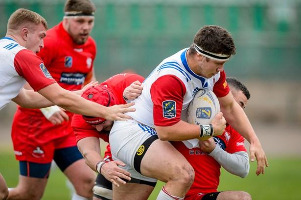 Popis: V sobotu 28. října 2017 vstoupil úspěšně český národní tým do bojů v Rugby Europe Trophy. V Praze na Markétě porazil ve vyrovnaném utkání Polsko o čtyři body.
