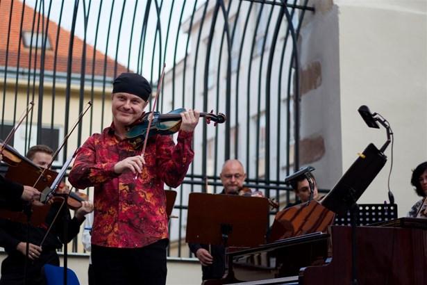 Popis: Pavel Šporcl - Hudební festival Znojmo.