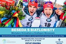 Biatlonista Krčmář se regeneruje po olympiáde v Luhačovicích