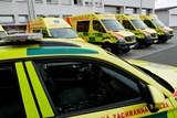 Záchranáři převzali jedenáct nových sanitních vozidel