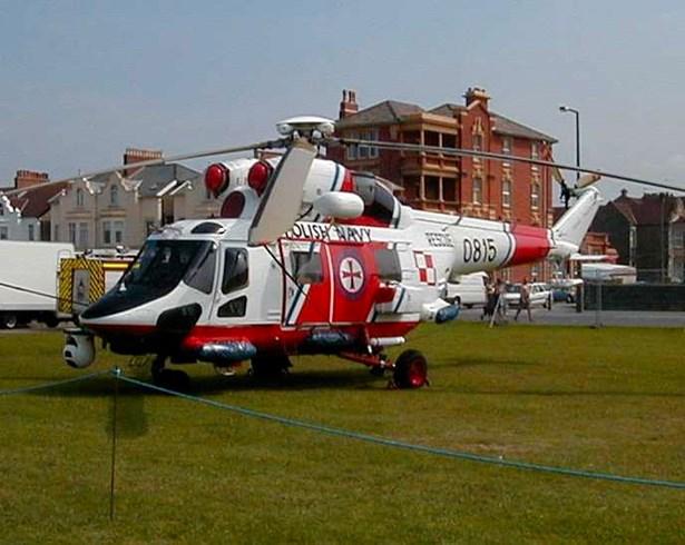 Popis: Vrtulník W-3RM Anakonda.