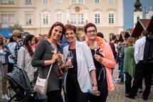 Jubilejní desátý ročník Festivalu vína VOC Znojmo se vydařil