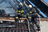 U požáru stodoly v Liberci zasahovali hasiči