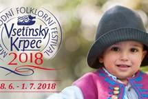 Srdce Valašska ožije 10. ročníkem Mezinárodního folklorního festivalu VSETÍNSKÝ KRPEC 2018