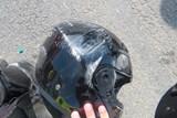 Zraněný motorkář v Prostějově
