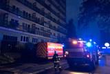 V Ostravě-Porubě hořela garsonka, 21 osob bylo evakuováno