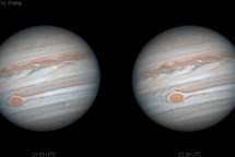 Titul Česká astrofotografie měsíce za květen 2018  obdržel snímek Jupiter