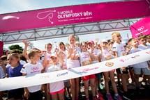 Olympijský běh 2018 startuje v Kinského zahradě